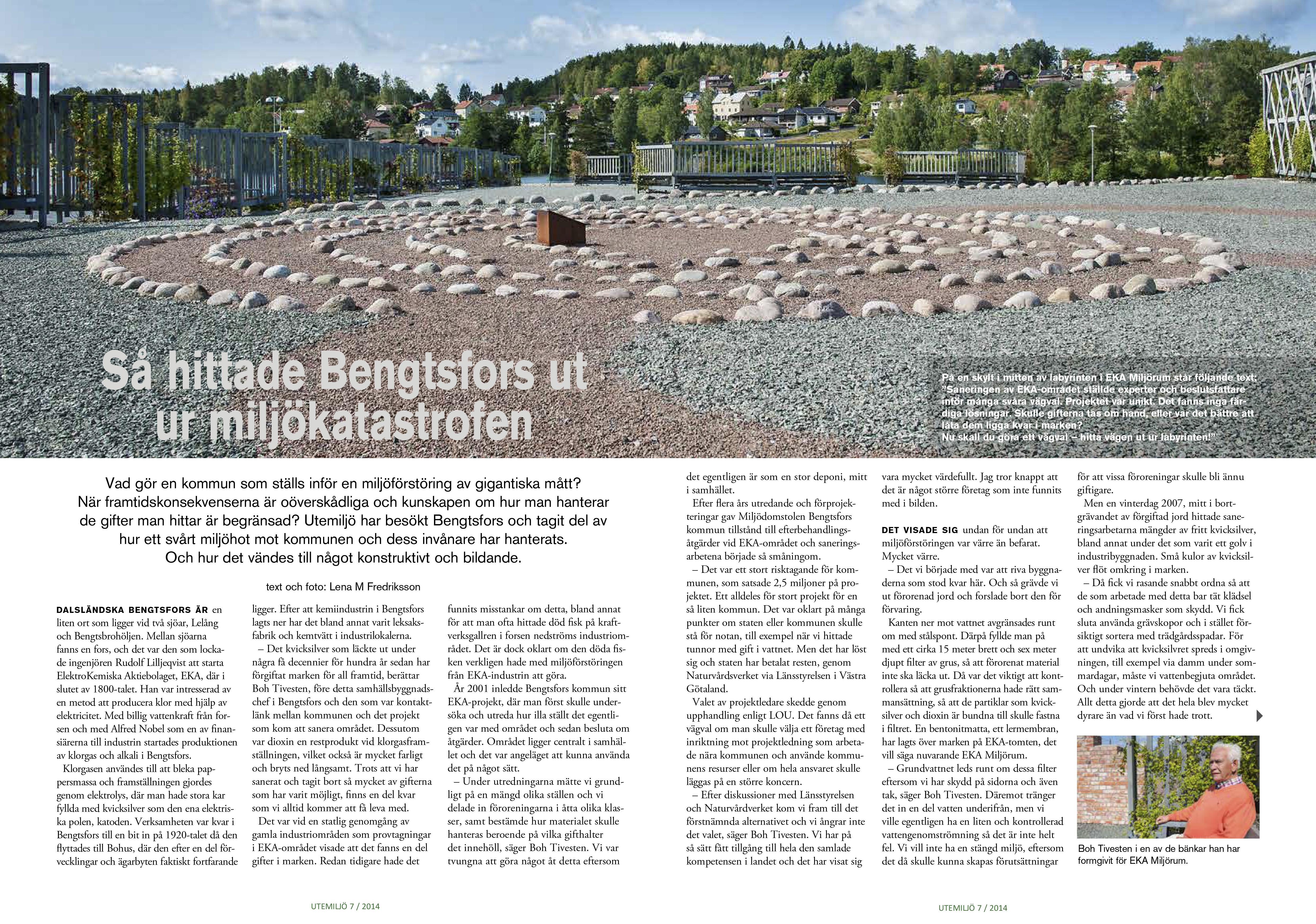 EKA miljörum Bengtsfors ur nr 7 2014-1