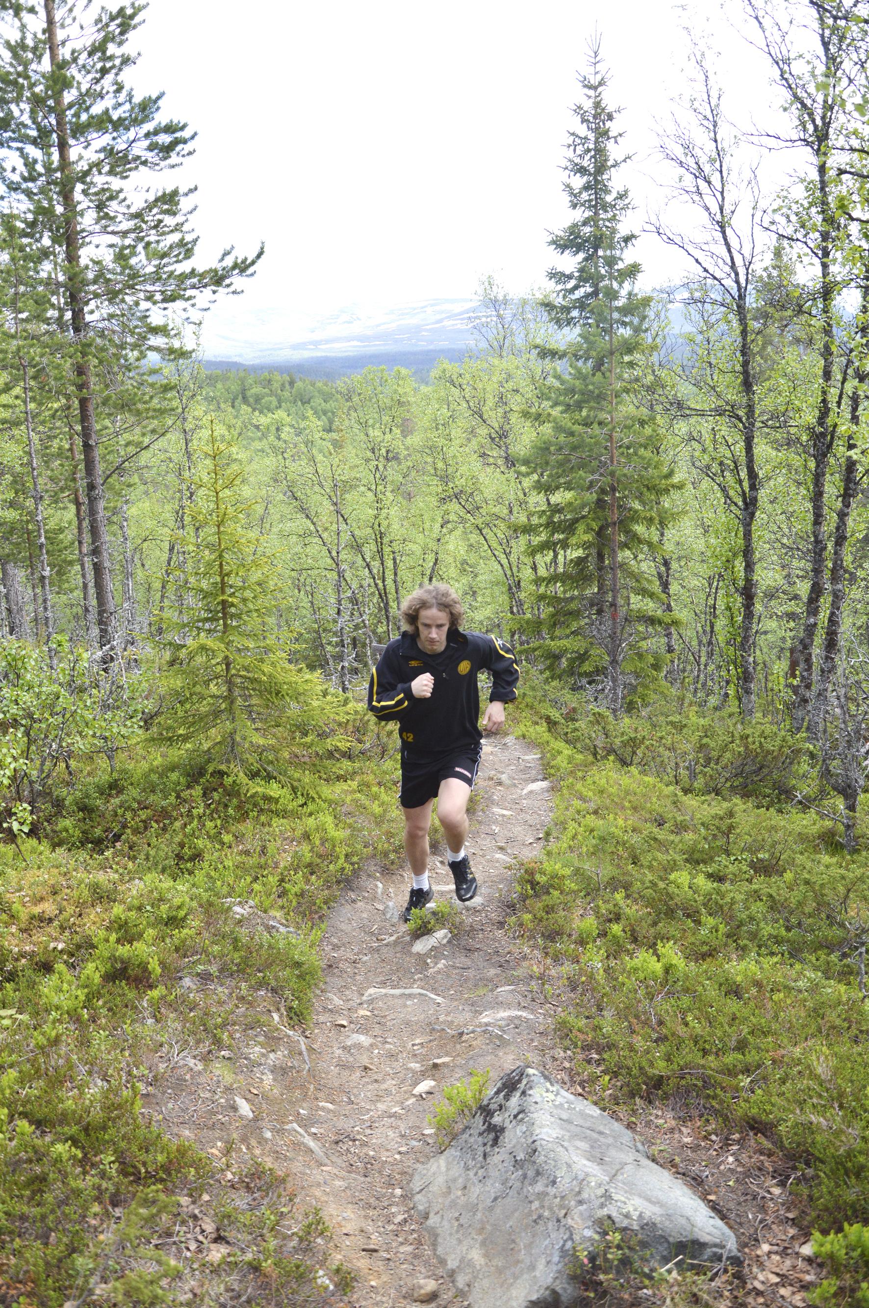 Löpning i Vålådalen 0501