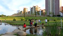 Bishan Ang-Mo Kio Park i Singapore